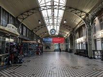 Станция Vitebsky в Санкт-Петербурге, России стоковое фото rf
