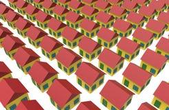 Стандартные дома Стоковое Изображение
