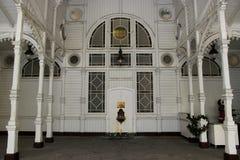 стан колоннады karlovy меняет стоковое изображение