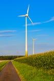 Стан энергии ветра Стоковое Изображение RF