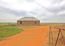 Старая австралийская усадьба bluestone Стоковое Фото