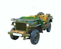 старая автомобиля воинская Стоковое Изображение