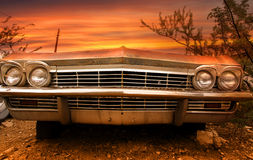 старая автомобиля классицистическая Стоковые Изображения RF