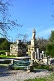 Старая агора классических Афин Стоковые Фотографии RF