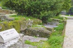 Старая агора Стоковое Изображение RF