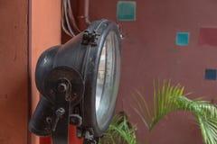 Старая лампа металла Стоковое Изображение