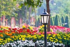Старая лампа сада Стоковое фото RF