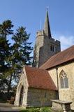 Старая английская церковь. Стоковые Фото
