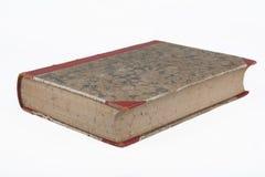 Старая античная книга с декоративной мраморной текстурой Стоковая Фотография