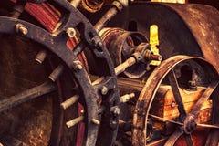 Старая античная сельско-хозяйственная техника стоковая фотография rf