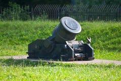 Старая артиллерийская система. Стоковое Фото