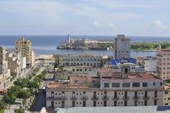 Старая архитектура Гаваны в Кубе Стоковое Фото