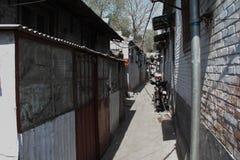 Старая архитектура Пекина стоковые фотографии rf