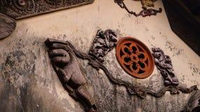 Старая архитектура стены Стоковое Фото