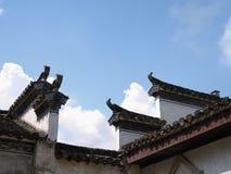 Старая архитектура Huizhou стоковые фотографии rf