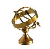 Старая латунная астролябия Стоковые Изображения