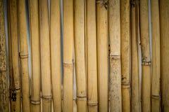 Старая бамбуковая предпосылка загородки стоковое изображение