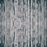 Старая бамбуковая предпосылка загородки стоковая фотография