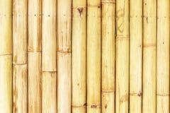 Старая бамбуковая предпосылка загородки Стоковая Фотография RF