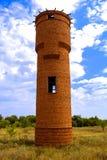 Старая башня воды стоковое изображение rf