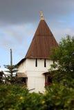 Старая башня в святом монастыре Transfiguration Стоковое Изображение RF