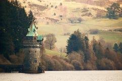 Старая башня измерения воды Spired Стоковая Фотография