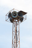 Старая башня диктора Стоковое фото RF