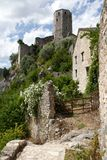 Старая башня и дома Pocitelj, Боснии и Hercegovina Стоковое Изображение