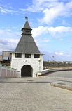 Старая башня Казани Кремля Стоковое Изображение