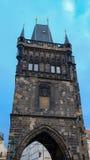 Старая башня моста городка, Прага Стоковое фото RF