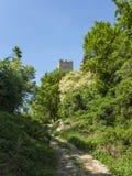Старая башня от замка в Хорватии Стоковые Фотографии RF