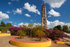 Старая башня рабства в Manaca Iznaga около Тринидада, Кубы Стоковые Изображения RF