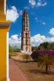 Старая башня рабства в Manaca Iznaga около Тринидада, Кубы Стоковая Фотография RF