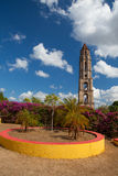 Старая башня рабства в Manaca Iznaga около Тринидада, Кубы Стоковые Изображения