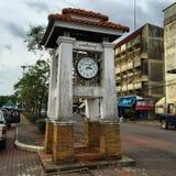 Старая башня с часами Стоковое Фото
