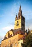 Старая башня с часами Стоковая Фотография RF