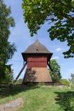 Старая башня церковного колокола Sigtuna Стоковые Фото