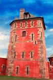 Старая башня Vauban в sur Mer Camaret стоковые изображения rf