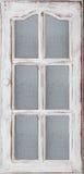 Старая белая дверь Стоковое Фото