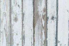 Старая белая деревенская деревянная предпосылка Стоковое фото RF