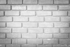 Старая белая предпосылка текстуры кирпичной стены стоковые изображения rf