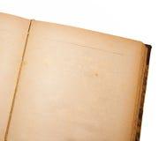 Старая белая страница Стоковые Изображения