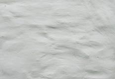 Старая белая текстура штукатурки стены Стоковая Фотография