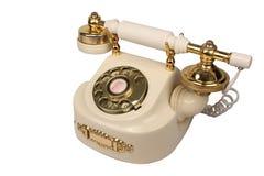 старая белизна телефона Стоковая Фотография RF