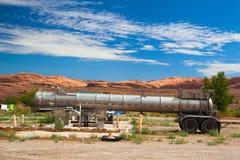 Старая бензозаправочная колонка в Moab Стоковое Изображение