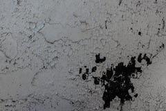 Старая бетонная стена с пятнами и грязью, предпосылкой текстуры Стоковая Фотография RF