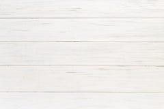 Старая белая деревянная предпосылка Стоковое Фото