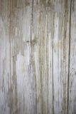 Старая белая деревянная текстура с естественной предпосылкой картин Стоковые Изображения