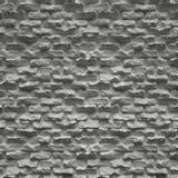 Старая белая кирпичная стена Стоковая Фотография