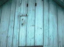 Старая бирюза???? на чердаке сделанном из древесины Стоковые Изображения RF